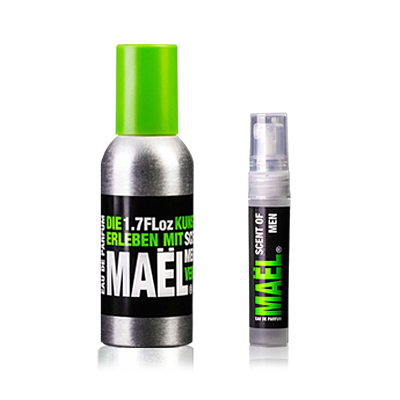 MAEL - Scent Of Men 50ml 1.7 Floz Eau de Parfum + MAEL - SCENT OF MEN 2Go 3ml 0.1 Floz Eau de Parfum